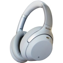 Sony Noise Cancelling Bluetooth Kopfhörer WH-1000XM3, silber