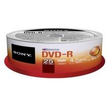 Sony DVD-R 4.7GB 16x 25er Cakebox