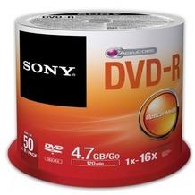 Sony DVD-R 4.7GB 16x 50er Cakebox