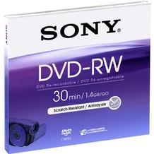 Sony DVD-RW 8cm 30Min/2x Jewelcase (5 Disc)