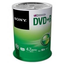 Sony DVD+R 4.7GB 16x 100er Cakebox