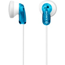 Sony Stereo Kopfhörer MDR-E9, blau-transparent