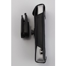 Soryt Ledertasche mit Stahlclip für Gigaset S79, S810, SX810, S4 professional
