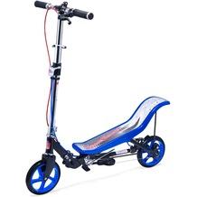 Space Scooter X590 Deluxe blau - bis 120 kg für Kinder und Erwachsene
