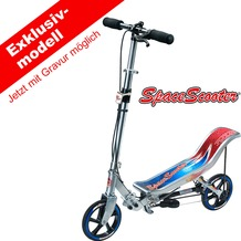 Space Scooter X 580 silber/blau