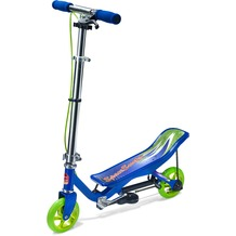 Space Scooter X360 blau Junior inkl. Schützerset