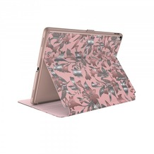 Speck HardCase Speck Balance Folio + Print iPad 9.7 (2017) w/Magnet Lillymodern Rose Gold/Crepe Pink/Cathedral Green