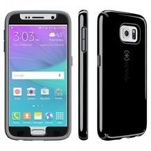 Speck HardCase CandyShell Faceplate für Samsung Galaxy S6, schwarz/grau