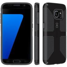 Speck HardCase CandyShell Grip für Samsung Galaxy S7, schwarz/grau