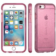 Speck HardCase Speck CandyShell iPhone (6/6S) Plus 5.5 CLEAR BEAMING ORCHID GOLD GLITTER