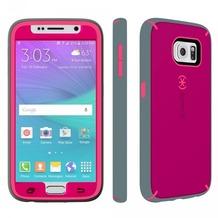 Speck HardCase MightyShell + Faceplate für Samsung Galaxy S6, pink/grau
