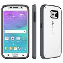 Speck HardCase MightyShell + Faceplate für Samsung Galaxy S6, weiß/grau