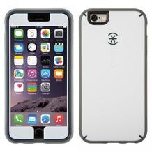 Speck HardCase MightyShell + Faceplate für iPhone 6, weiß/grau