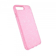 Speck HardCase Speck PRESIDIO iPhone (8) Plus Clear/Glitter - Bella Pink With Gold Glitter/Bella Pink