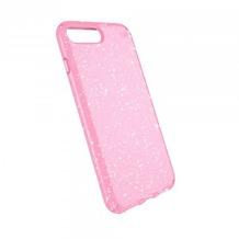 Speck HardCase Speck PRESIDIO iPhone (8) Plus Clear/Glitter - Bella Pink With Gold Glitter/Bella Pink