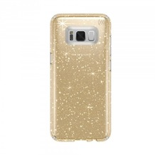 Speck HardCase Speck Presidio Samsung Galaxy S8 Clear with Gold Glitter/Clear