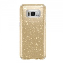 Speck HardCase Speck Presidio Samsung Galaxy S8 Plus Clear with Gold Glitter/Clear