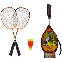 Speedbadminton Badminton Set Speed 2200 im 3/4 Bag black/orange