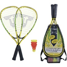 Speedbadminton Set SPEED 4000 im 3/4 Bag black/green