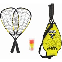 Speedbadminton Set Speed 4400 im 3/4 Bag black/yellow