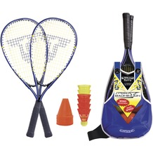 Speedbadminton Set SPEED 6000 im Slingbag black/blue