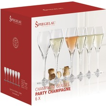 Spiegelau Special Glasses Party Champagne 6er Set