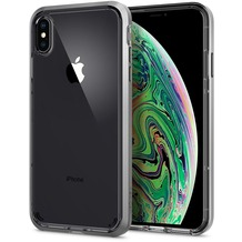 Spigen Neo Hybrid Crystal for iPhone XS Max satin silver
