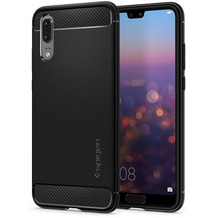 Spigen Rugged Amor for P20 black