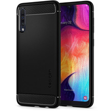 Spigen Rugged Armor for Galaxy A50 matt black