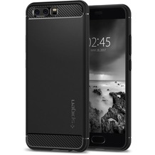 Spigen Rugged Armor for P10 schwarz