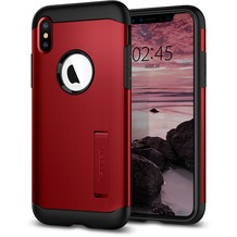 Spigen Slim Armor for iPhone XS Merlot Red
