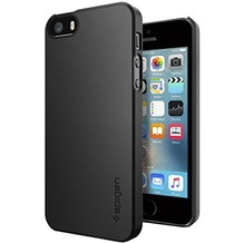 Spigen Thin Fit for iPhone 5/5S/SE schwarz