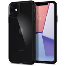 Spigen Ultra Hybrid for iPhone 11 matt black