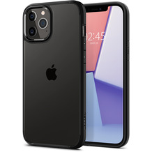 Spigen Ultra Hybrid for iPhone 12 / 12 Pro matt black