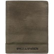 Spikes & Sparrow Bronco Geldbörse Leder 10 cm charcoal