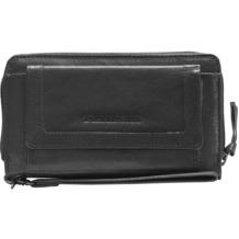 Spikes & Sparrow Bronco Geldbörse IV Leder 19,5 cm black