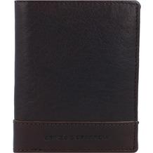 Spikes & Sparrow Geldbörse RFID Leder 10 cm darkbrown