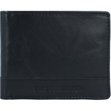 Spikes & Sparrow Geldbörse RFID Leder 11 cm black