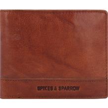 Spikes & Sparrow Geldbörse RFID Leder 13 cm brandy