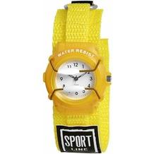 Sportline Kinderuhr mit Textilband - weiß 440004000001