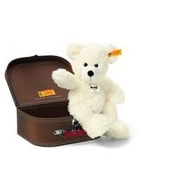 Steiff Lotte Teddybär im Koffer 28cm weiß