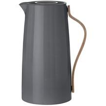 stelton Kaffeeisolierkanne EMMA 1.2 L dunkelgrau