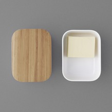 stelton RIG-TIG BOX-IT Butterdose, warmgrau