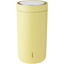 stelton Trinkbecher To Go Click 0.34 l, soft gelb