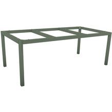 Stern Tischset aus Tischgestell und Tischplatte,taupe