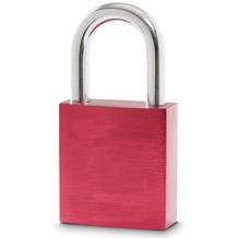 Sterngraf Schloss rot mit 2 Schlüsseln Liebesschloss Vorhängeschloss