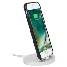 Stilgut AirDock Oval - iPhone Dockingstation - silber