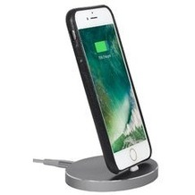 Stilgut AirDock Oval - iPhone Dockingstation - space gray