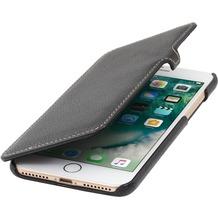 Stilgut Book Type Case mit Clip für iPhone 7 Plus, schwarz