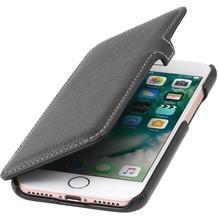 Stilgut Book Type Case mit Clip für iPhone 7, schwarz